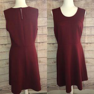 Merona red sleeveless dress